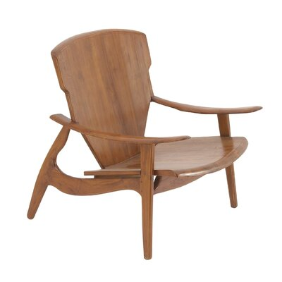 Arm Chair Finish: Brown