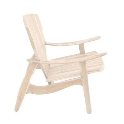 Arm Chair Finish: Natural