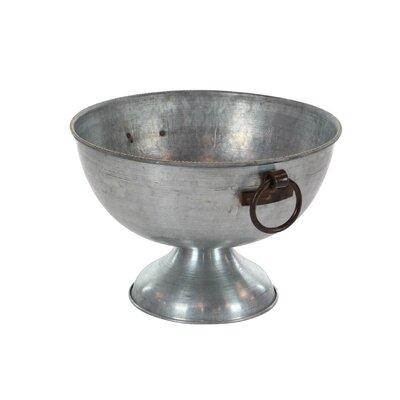 Galvanized 2 Piece Decorative Bowl Set