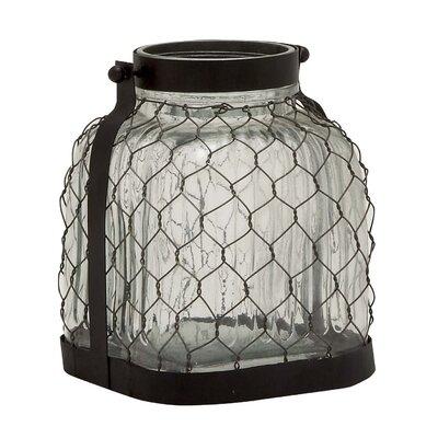 Glass and Metal Lantern