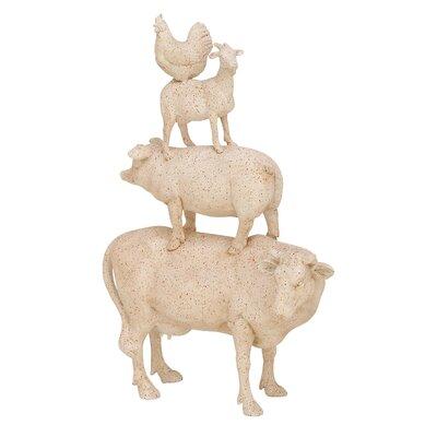 Polystone Stacking Animals Figurine 38230