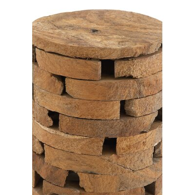 Teak Wood Accent Stool