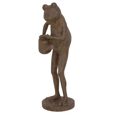 Polystone Frog Figurine 38238