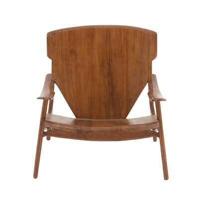 Armchair Finish: Brown