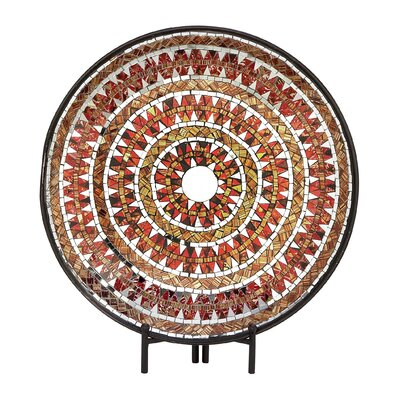 Metal Platter with Easel 42144