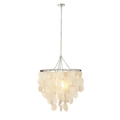 Capiz 1-Light Mini Pendant