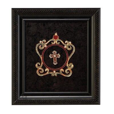'Jewels' Framed Graphic Art Print on Wood 68126