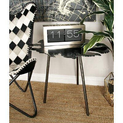 Aluminum End Table Color: Gray