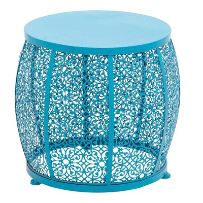 The End Table Color: Blue