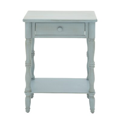 End Table Color: Blue