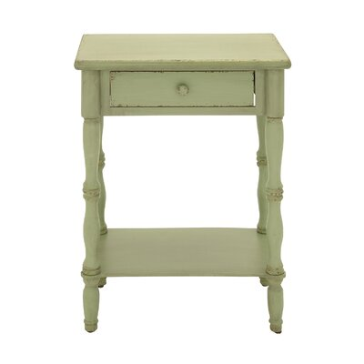 End Table Color: Green