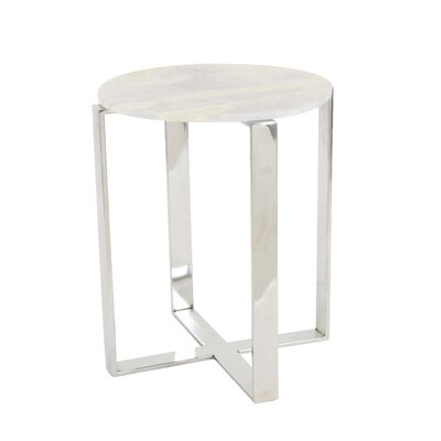 Burgett Round End Table