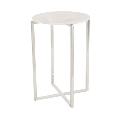 Schiess Modern Round End Table