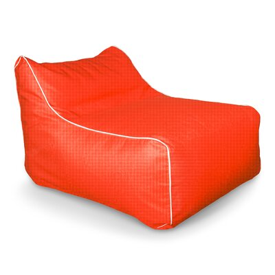 Sunbrella Kids Bean Bag Lounger Upholstery: Melon