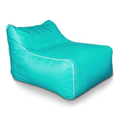Sunbrella Kids Bean Bag Lounger Upholstery: Aruba