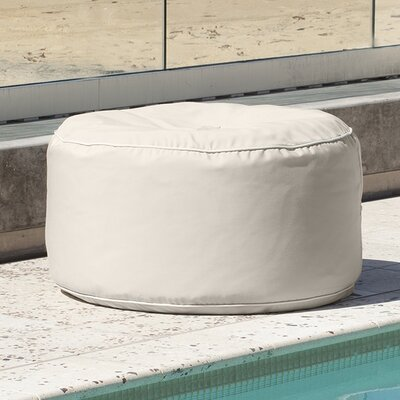 Sunbrella Outdoor Ottoman Color: Antique Beige