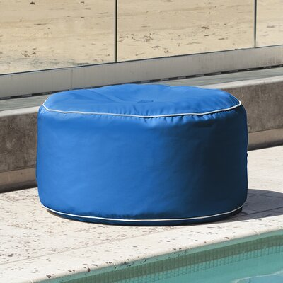 Sunbrella Outdoor Ottoman Color: Pacific Blue