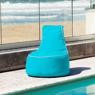 Sunbrella Bean Bag Chair Upholstery: Aruba
