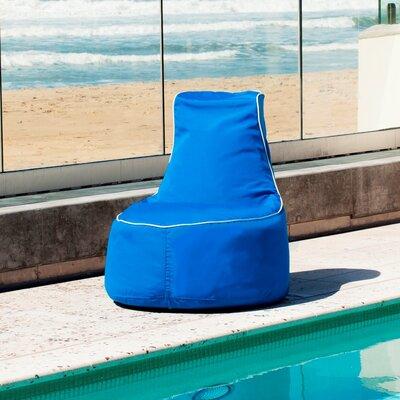Sunbrella Bean Bag Chair Upholstery: Pacific Blue