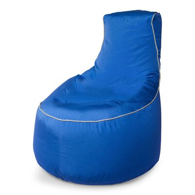 Sunbrella Bean Bag Chair Upholstery: Pacific Blue