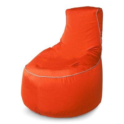 Sunbrella Bean Bag Chair Upholstery: Melon
