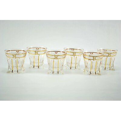 Square Based Double Old Fashion Glasses ZG26201