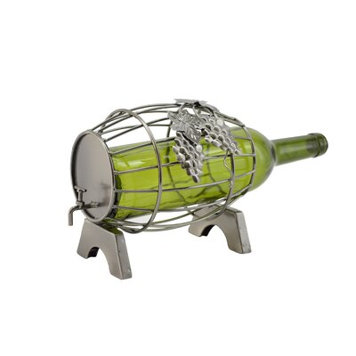 Barrel 1 Bottle Tabletop Wine Rack