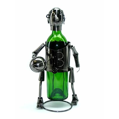 Basketball Player 1 Bottle Tabletop Wine Rack