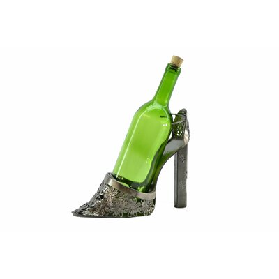 Lady High Heel Shoe 1 Bottle Tabletop Wine Rack