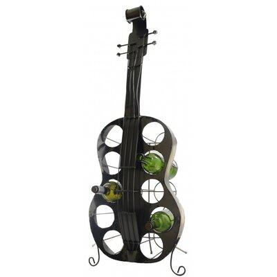 Fraser Large Guitar 10 Bottle Tabletop Wine Rack