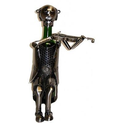 Violinist 1 Bottle Tabletop Wine Rack