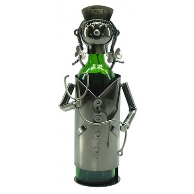 Nurse 1 Bottle Tabletop Wine Rack