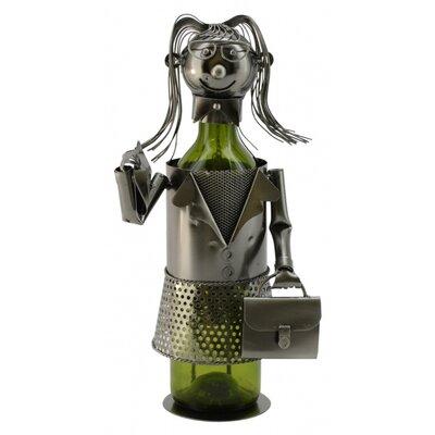 Business Lady 1 Bottle Tabletop Wine Rack