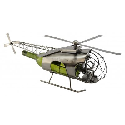 Helicopter 1 Bottle Tabletop Wine Rack