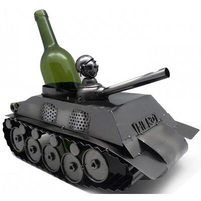 Tank 1 Bottle Tabletop Wine Rack