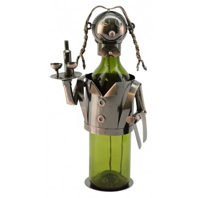 Waitress 1 Bottle Tabletop Wine Rack