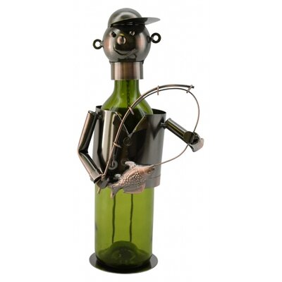 Fisherman 1 Bottle Tabletop Wine Rack