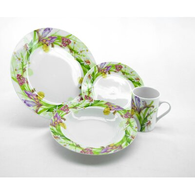 Iris 16 Piece Dinnerware Set YD5263