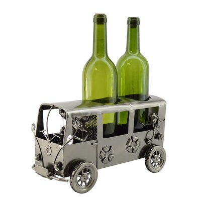 Mini Van 2 Bottle Tabletop Wine Rack