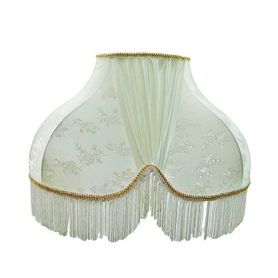 Scallop Decor Lamp Shade Color: White
