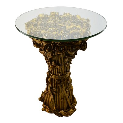 Velez Rose Bunch End Table
