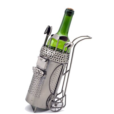 Golf Bag 1 Bottle Tabletop Wine Rack