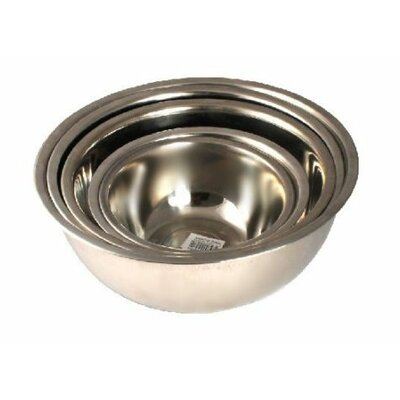 5 Piece Utensils Bake Prep Mixing Bowls Basins Set Size: Small S1507-20/22/24/26/28_WY