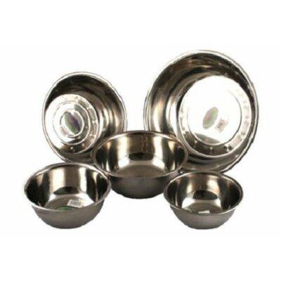 5 Piece Utensils Bake Prep Mixing Bowls Basins Set Size: Large S1507-20/22/24/28/32_WY