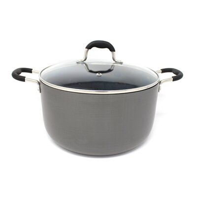 Hard Anodized Round Dutch Oven Size: 6 QT HD1000-24D