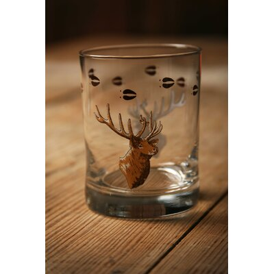 Fabian Cabin Lodge Double Wildlife Old Fashioned Glass LOPK2249 40541853