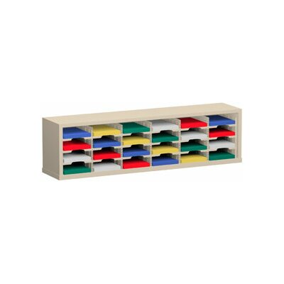 24 Pocket Mail Sorter Color: Grey