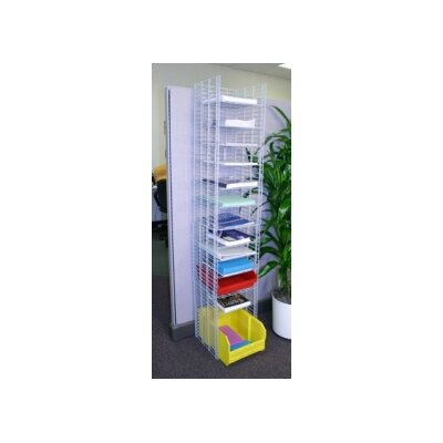 12 Pocket Free Standing Organizer with Letter Depth