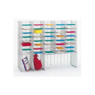 42 Pocket Triple Organizer Size: 48.38 H x 60 W x 15 D
