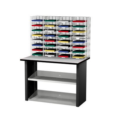 32 Compartment Mailroom Organizer
